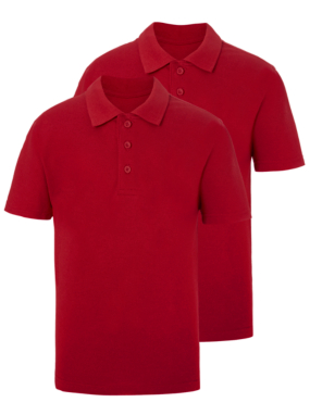 School 2 Pack Polo Shirts