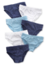 7 Pack Blue Briefs main view