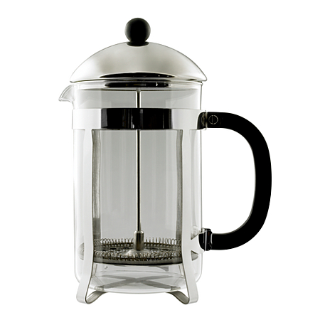 george home stainless steel 1 5 litre cafetiere cups. Black Bedroom Furniture Sets. Home Design Ideas