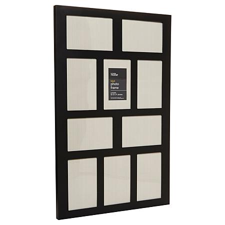 george home black multi aperture frame frames albums. Black Bedroom Furniture Sets. Home Design Ideas