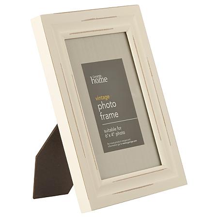 george home vintage photo frame 6 x 4 inch frames. Black Bedroom Furniture Sets. Home Design Ideas