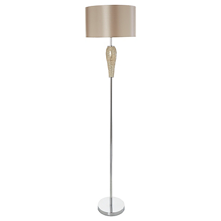 George home gold mosaic floor lamp lighting asda direct for Floor lamp asda
