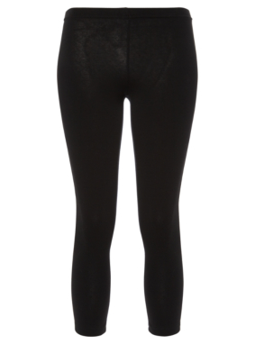 Black ¾ Length Leggings