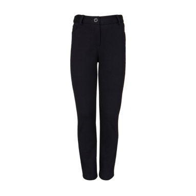 School Tapered Leg Trouser - Black