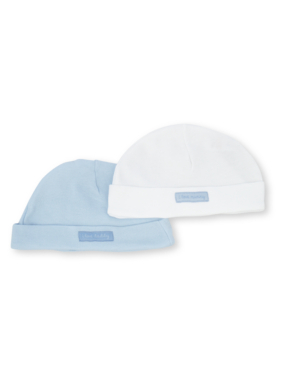 2 Pack Baby Hats - Blue