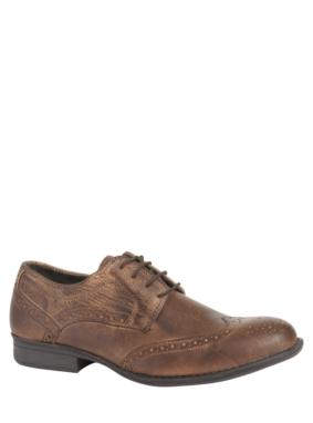 Leather Burnished Brogues