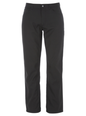 Black Formal Stripe Trousers