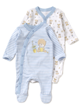 Check our designer collection of the softest, most comfy kids sleepsuits made of premium fabric from bamboo. Order baby Sleepwear online.