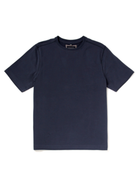 Boston Crew Crew Neck Top - Navy