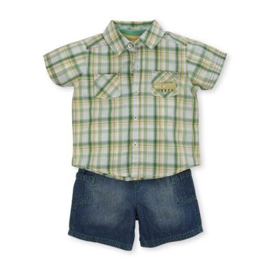 Baby Clothes 3 Piece Baby Outfit - Jade, Jade