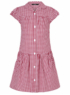 Red Gingham School Dress main view