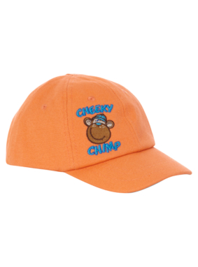 Embroidered Monkey Cap