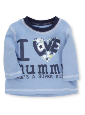 I Love Mummy Baby Top