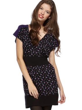 G21 Mix Print Colour Block Dress