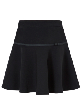 Girls School Flippy Skirt - Navy