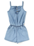 Denim Playsuit main view