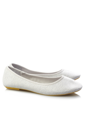 Canvas Ballerina Pumps