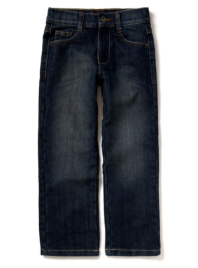 Mid Wash Regular Jeans