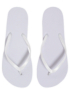 Basic Flip Flops - White alternative view