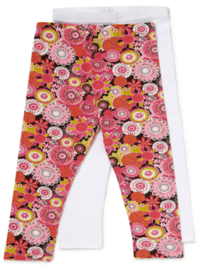 2 Pack Printed Leggings
