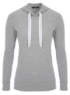 Grey Hooded Top main view