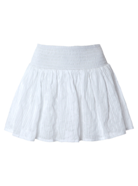 Layered Cotton Skirt