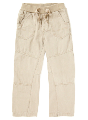 Ribbed Casual Trousers