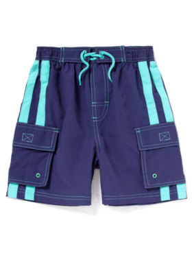 Cargo Swimshorts - Blue