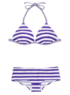 Striped Bikini Top alternative view