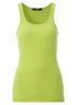 Scooped Neck Vest Top - Green main view