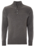 Funnel Neck Jumper - Grey main view