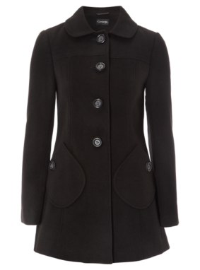 Formal Coat - Black
