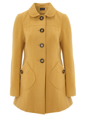 Formal Coat - Yellow