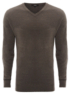 V Neck Jumper - Charcoal main view