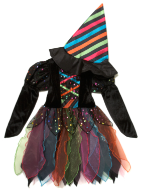 Rainbow Witch - Halloween Costume