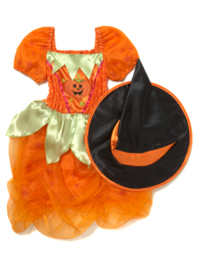 Pumpkin Witch Halloween Costume
