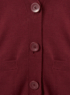 Girls School Boyfriend Cardigan - Burgundy alternative view