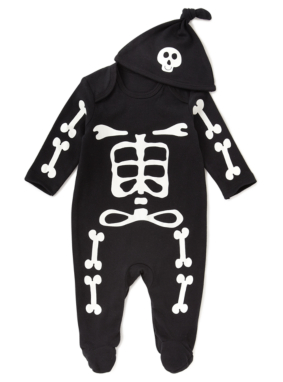 Skeleton Halloween All in One