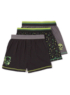 3 Pack Skull Boxer Shorts main view