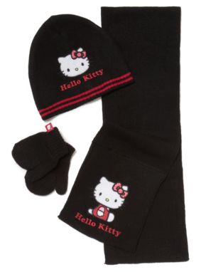 Hello Kitty Knitted 3 Piece Set