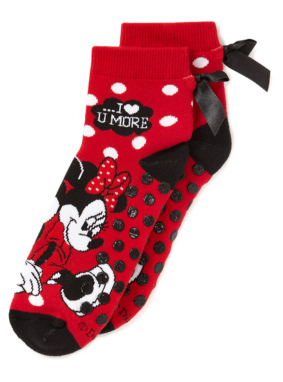 Minnie Mouse Slipper Socks