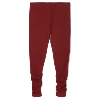Girls' Clothes George Ruche Side Leggings - Burgundy