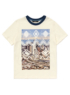 Aztec City Print T-Shirt main view