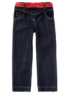 Belted Wide Leg Jeans main view