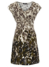 Moda Animal Print Dress main view