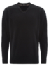 V Neck Jumper - Black main view