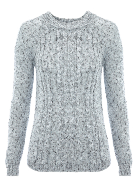 Moda Lurex Knit Jumper
