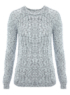Moda Lurex Knit Jumper main view