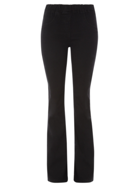 Moda Bootcut Jeggings - Black