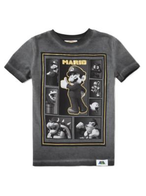 Mario Bros Monochrome T-Shirt